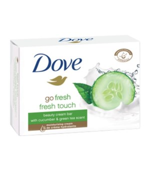 DOVE® BAR SOAP 135 GR - FRESH TOUCH (GREEN/CUCUMBER) - 48/CS
