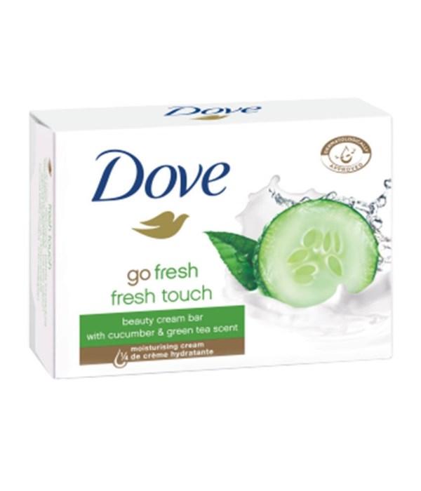 DOVE® BAR SOAP 135 GR - FRESH TOUCH (GREEN/CUCUMBER) - 48/CS