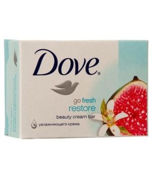 DOVE® BAR SOAP 135 GR - RESTORE - 48/CS (Fig)