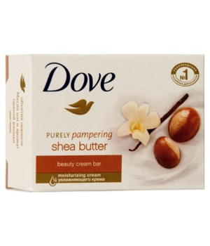 DOVE® BAR SOAP 135 GR - SHEA BUTTER- 48/CS