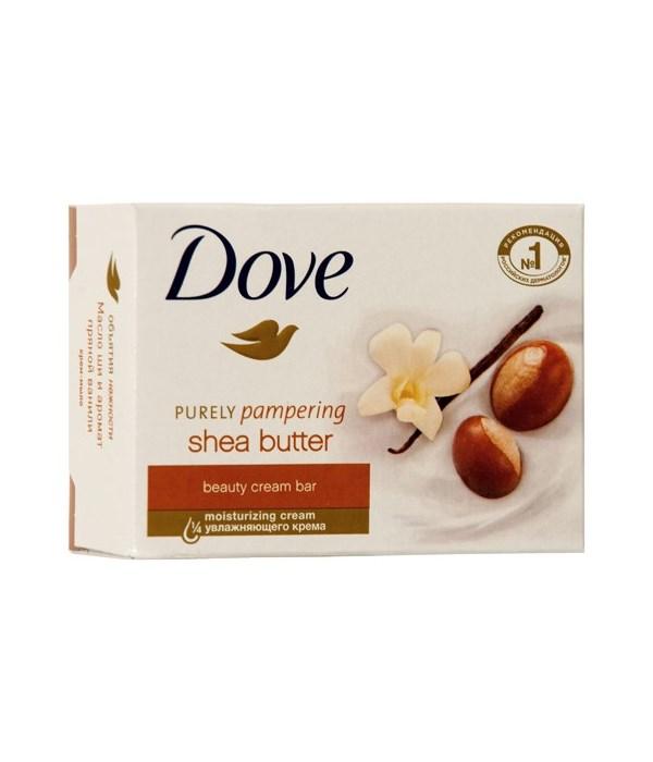 DOVE® BAR SOAP 135 GR - SHEA BUTTER- 48/CS