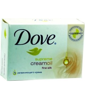 DOVE® BAR SOAP 135 GR - SILK - 48/CS