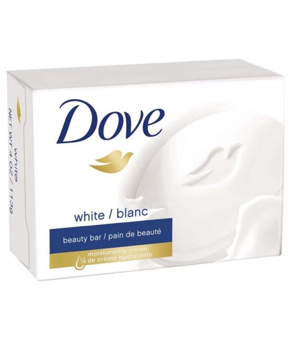 DOVE® BAR SOAP 135 GR - WHITE - 48/CS