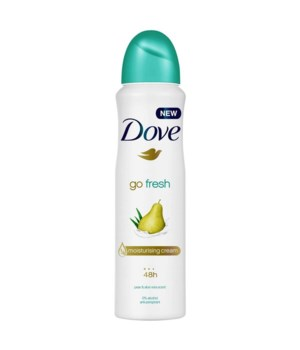 DOVE® DEODORANT SPRAY 150 ML - ALOE - 12/UNIT