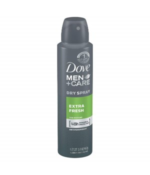 DOVE® DEODORANT SPRAY 150 ML - EXTRA FRESH - 12/UNIT
