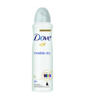 DOVE® DEODORANT SPRAY 150 ML - INVISIBLE DRY (WOMEN) - 12/UNIT