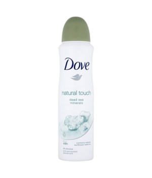 DOVE® DEODORANT SPRAY 150 ML - NATURAL TOUCH - 12/UNIT