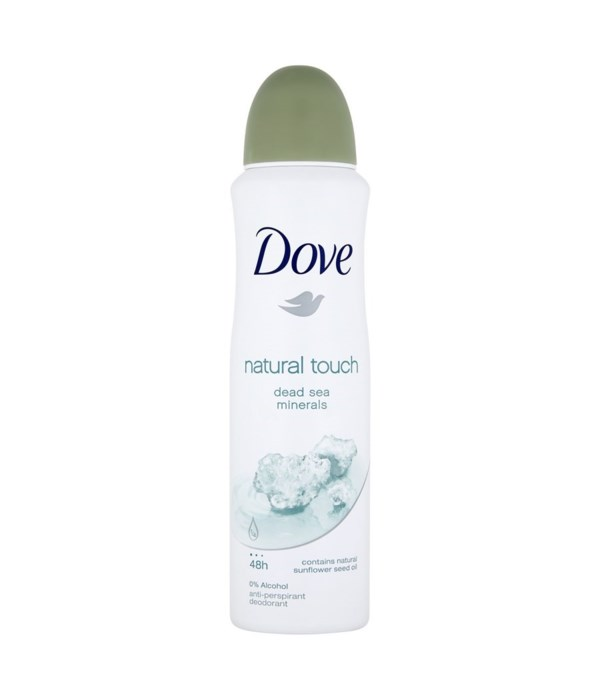 DOVE® DEODORANT SPRAY 150 ML - NATURAL TOUCH - 12/UNIT