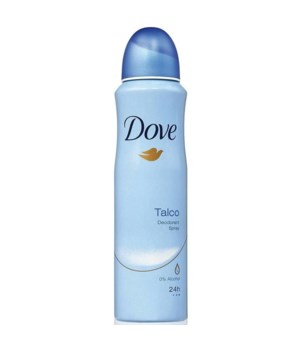 DOVE® DEODORANT SPRAY 150 ML - TALCO- 12/UNIT