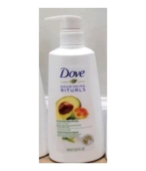 DOVE® BODY LOTION 16.9 FO (500ml) - INVIGORATING- 12/CS ( 67589953 )