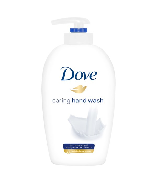 DOVE® LIQUID HAND WASH 250 ML - REGULAR- 12/CASE