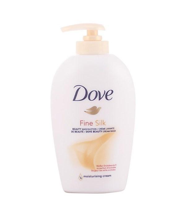 DOVE® LIQUID HAND WASH 250 ML- FINE SILK - 12/CASE