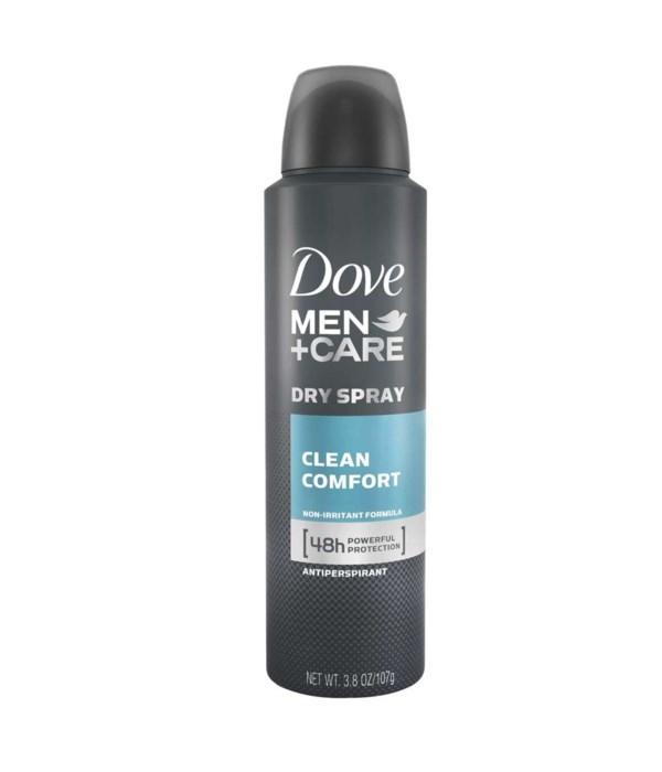 DOVE® DEODORANT SPRAY 250 ML - CLEAN COMFORT- 12/UNIT