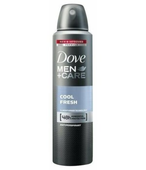 DOVE® DEODORANT SPRAY 250 ML - COOL FRESH FOR MEN- 12/UNIT