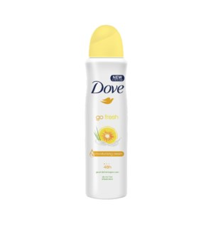 DOVE® DEODORANT SPRAY 250 ML - GO FRESH GRAPEFRUIT & LEMONGRASS - 12/UNIT