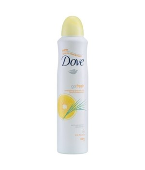 DOVE® DEODORANT SPRAY 250 ML - GRAPEFRUIT - 12/UNIT