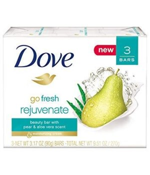 DOVE® BAR SOAP 3.17 OZ - REJUVENATE - 12 X 3PK