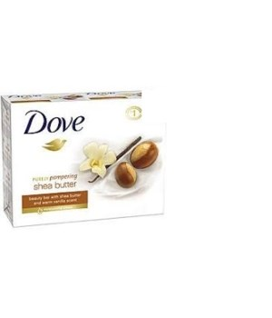 DOVE® BAR SOAP 3.17 OZ - SHEA BUTTER - 12 X 3PK