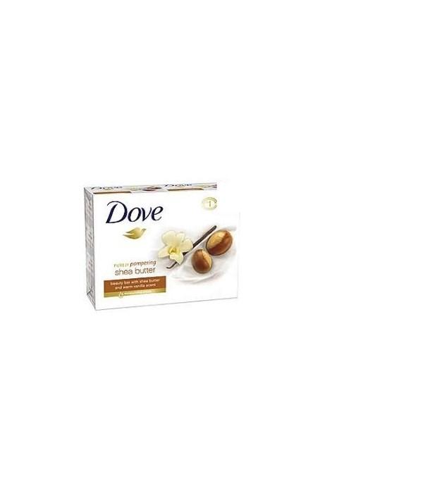 DOVE® BAR SOAP 3.17 OZ - SHEA BUTTER - 12 X 3PK