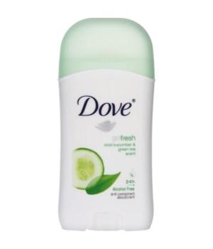 DOVE® DEODORANT STICK 40 ML - GO FRESH CUCUMBER (WOMEN) - 30/CS