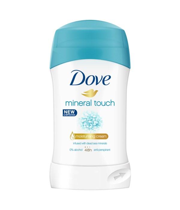DOVE® DEODORANT STICK 40 ML - MINERAL TOUCH (WOMEN)- 30/CS