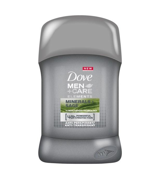 DOVE® DEODORANT STICK 40 ML - MINERAL SAGE (MEN)- 24/CS