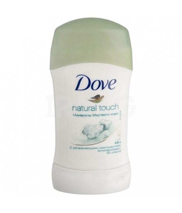 DOVE® DEODORANT STICK 40 ML - NATURAL TOUCH (WOMEN)- 30/CS