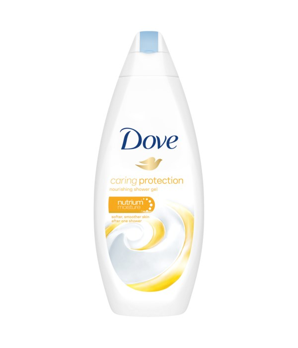 DOVE® BODY WASH 500 ML - CARING PROTECTION - 12/CS