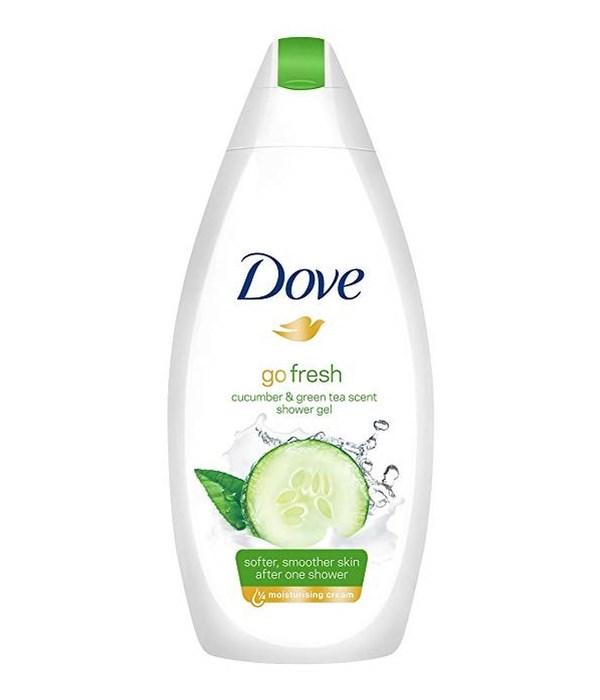 DOVE® BODY WASH 500 ML - GO FRESH TOUCH (CUCUMBER & GREEN TEA )- 12/CS