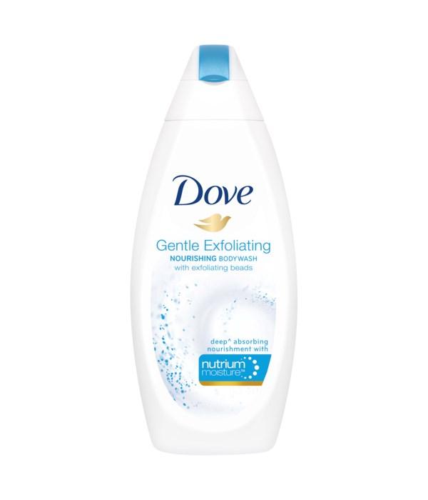 DOVE® BODY WASH 500 ML - GENTLE EXFOLIATING - 12/CS