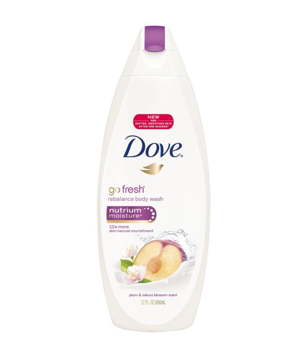 DOVE® BODY WASH 500 ML - REBALANCE- 12/CS