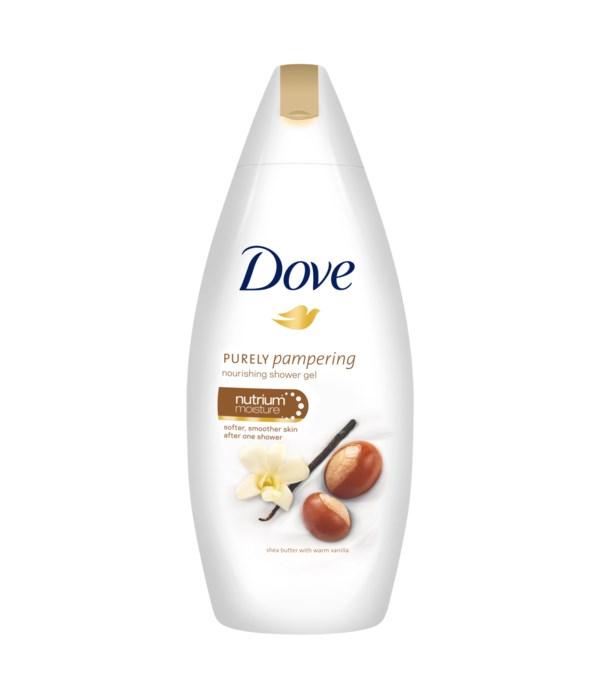 DOVE® BODY WASH 500 ML - SHEA BUTTER  - 12/CS