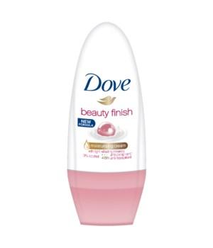 DOVE® DEODORANT ROLL ON 50 ML -BEAUTY FINISH - 24/CS