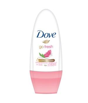 DOVE® DEODORANT ROLL ON 50 ML -POMEGRANATE -  24/CS