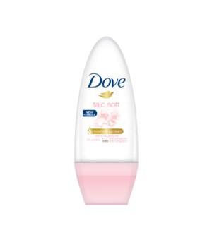 DOVE® DEODORANT ROLL ON 50 ML - TALCO  -  24/CS