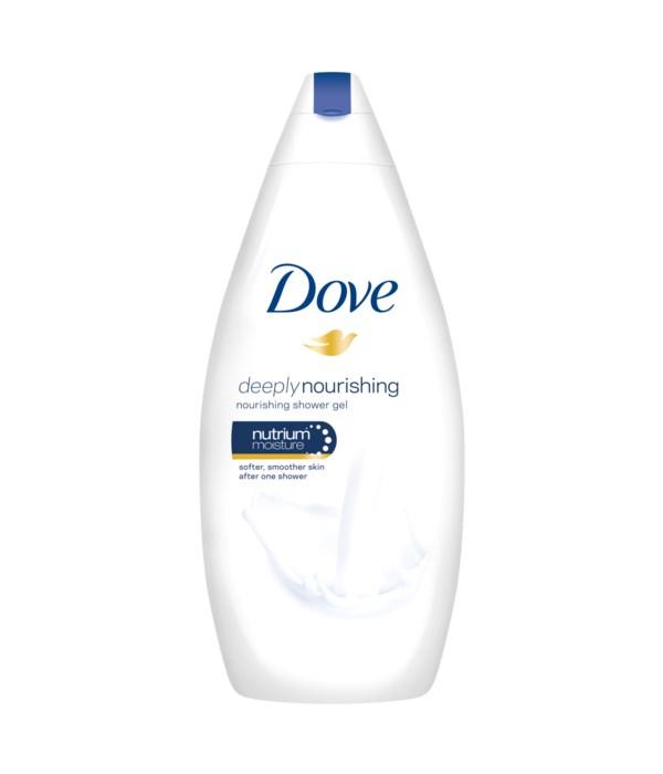 DOVE® BODY WASH 700ml- (ADDOLCENTE CLASSICO IDRATANTE- SOOTHING CLASSIC)- ORIGINAL - 12/CS