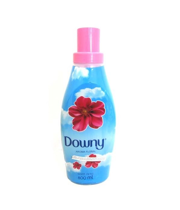 DOWNY® 800 ML - AROMA FLORAL (BABY BLUE) - 9/CS