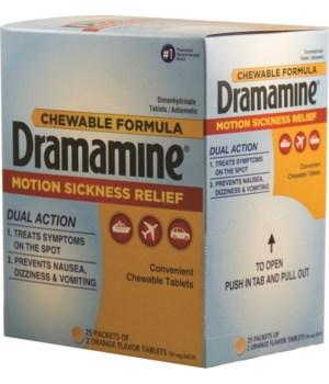DRAMAMINE® BOX 25'S
