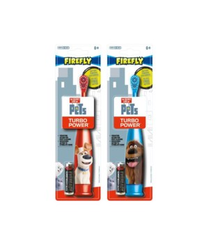 DRF� TOOTH BRUSH- SECRET LIFE OF PETS TURBO- 48/CS