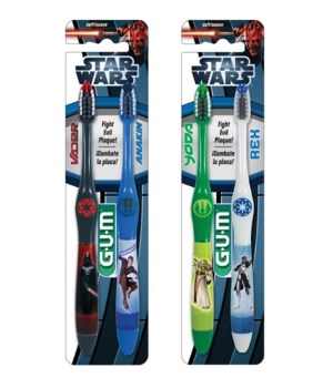 DRF� TOOTH BRUSH- STAR WARS- 48/CS (64005)