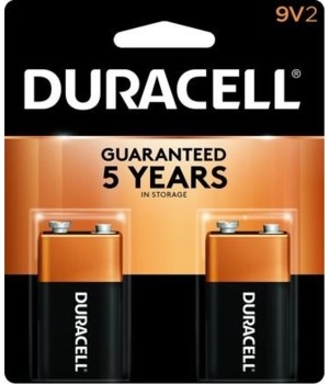 DURACELL® 9V - US - 2PK COPPERTOP 48'S