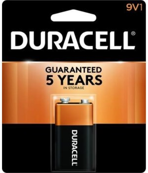 DURACELL® 9V - USA - COPPERTOP