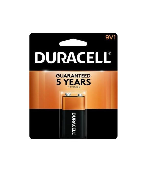 DURACELL® 9V - USA - COPPERTOP