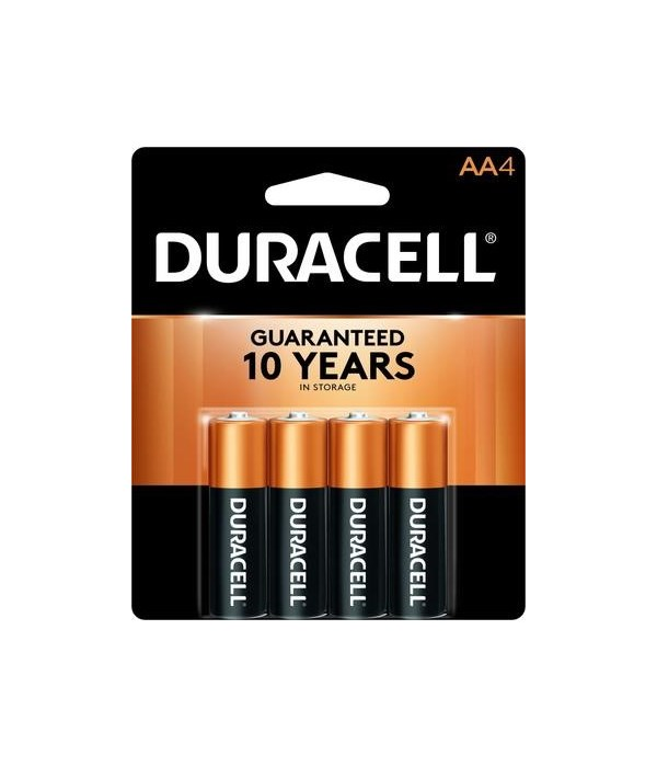DURACELL® AA-4 COPPERTOP (56'S)