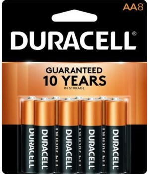 DURACELL® AA-8PK COPPERTOP (48'S)