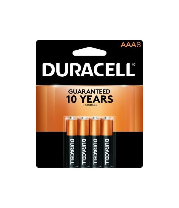DURACELL® AAA8 - COPPERTOP 40'S