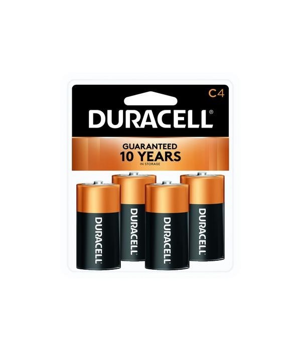DURACELL® C-4 USA (18'S)