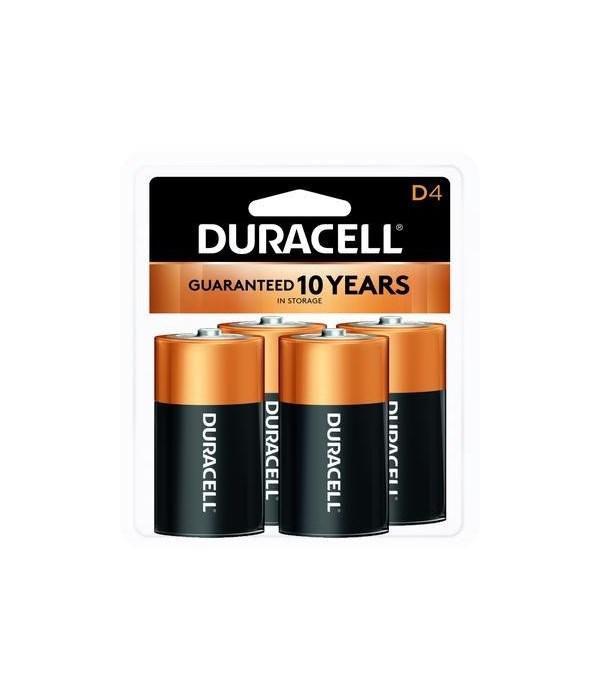 DURACELL® D-4 USA (12'S)
