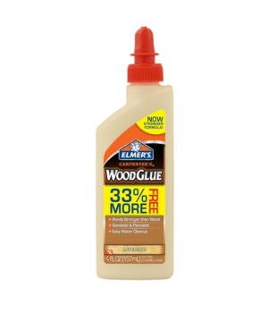 ELMER'S WOOD GLUE 5.3 OZ - 48PK  ( E7002LMR )