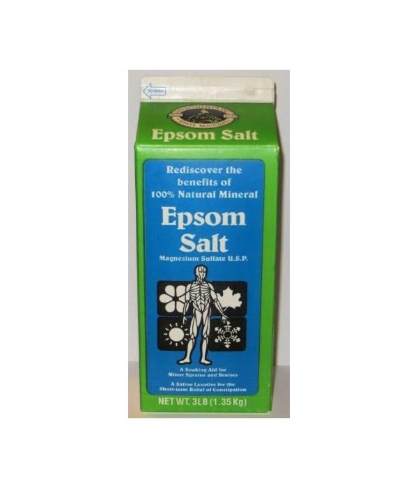 EPSOM� SALT 3 LB- 6/CS